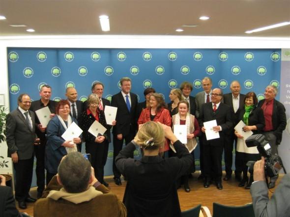 Ehrung für Verdienste um die Gesundheit in Bayern 2012