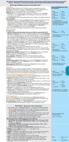 Drug Finder HIV 2011 Legende Seite 2